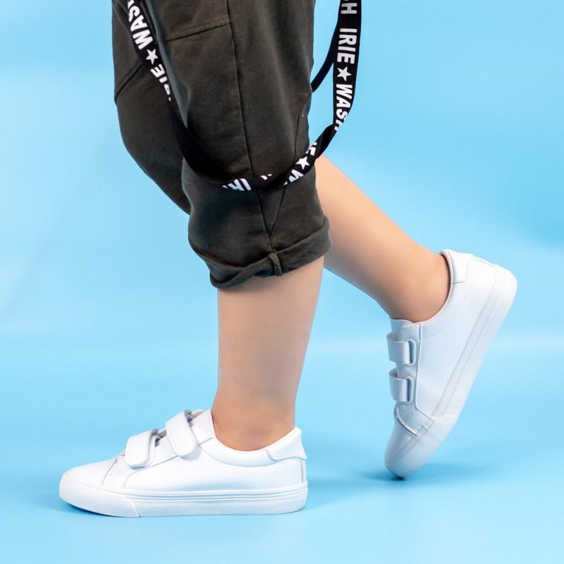 Pantofi Sport Baieti XC237 Alb Mei