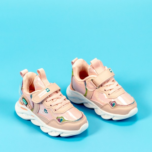 Pantofi Sport Fete LD2026A Roz Mei