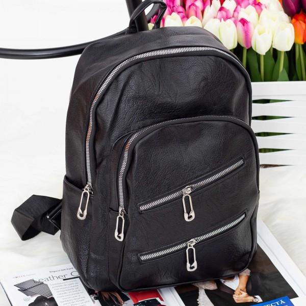 Rucsac Dama J039 Black (Q06) Fashion J039 BLACK Fashion