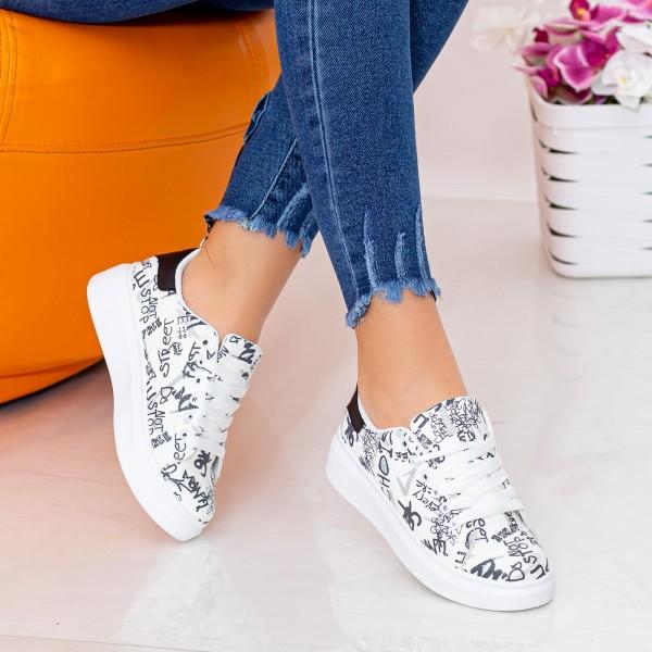Pantofi Sport Dama 271 Negru Fashion