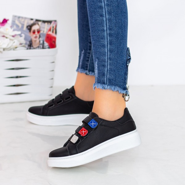 Pantofi Sport Dama 2101 Negru Fashion
