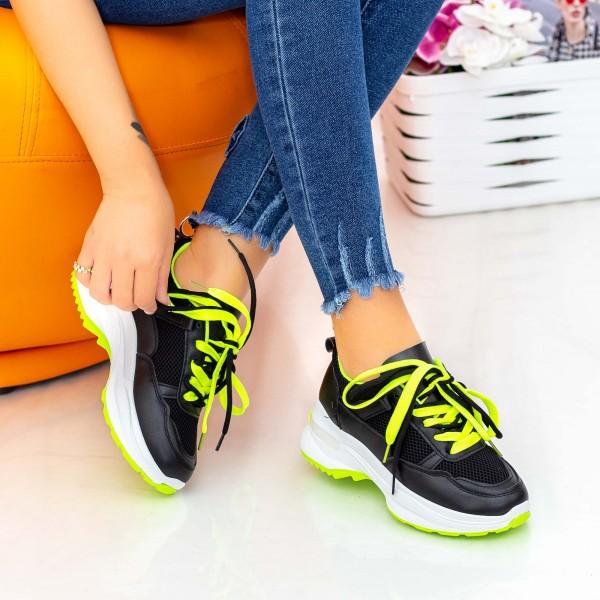 Pantofi Sport Dama 23-53 Negru Mei