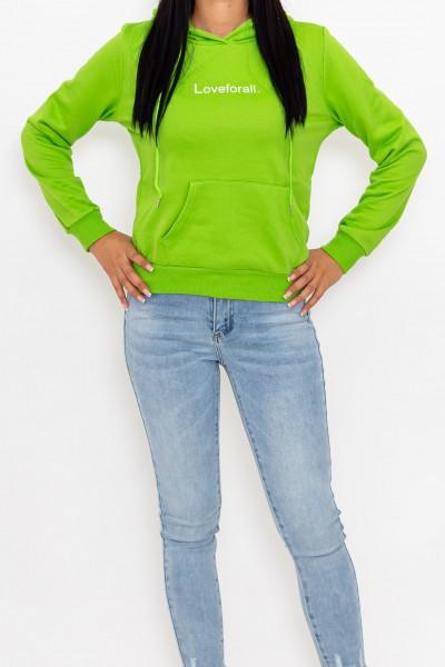 Hanorac Dama CR1781 Verde Fashion