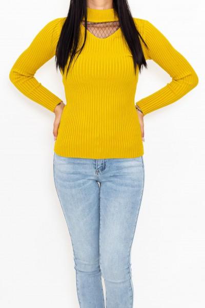 Bluza Dama 3708 Galben Fashion