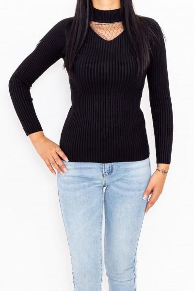 Bluza Dama 3708 Negru Fashion