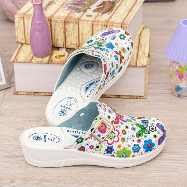 Papuci Dama 11778 Multicolor Gezer
