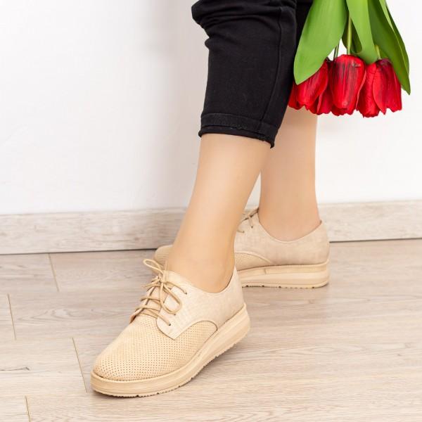 Pantofi Casual Dama BL00087 Bej Botinelli
