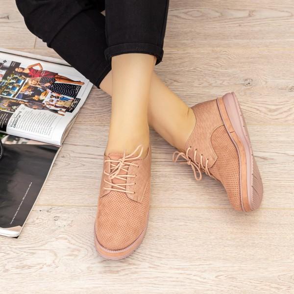Pantofi Casual Dama BL00087 Roz Botinelli