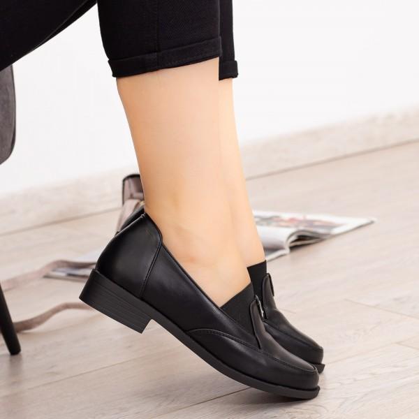 Pantofi Casual Dama EK0101 Negru Botinelli
