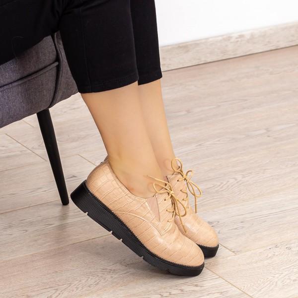 Pantofi Casual Dama EK0090 Bej Botinelli