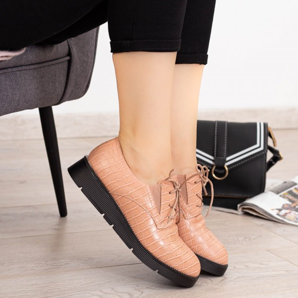 Pantofi Casual Dama EK0090 Roz Botinelli