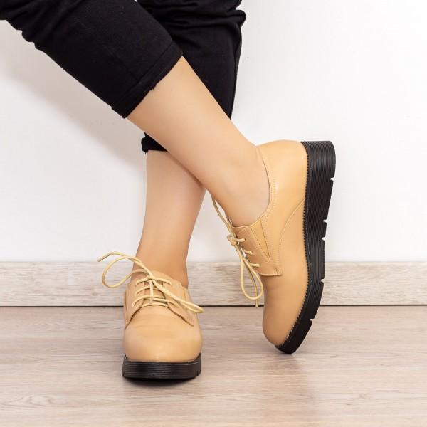 Pantofi Casual Dama EK0090A Bej Botinelli
