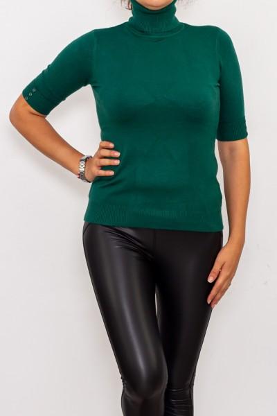 Bluza Dama cu maneca 1/2 D208 Verde Fashion