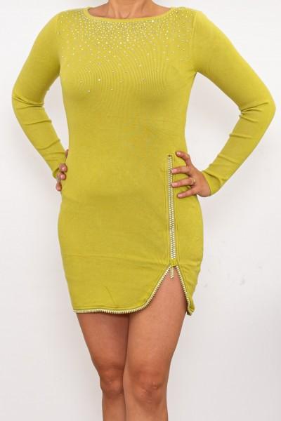 Rochie Dama DD362 Verde deschis Fashion