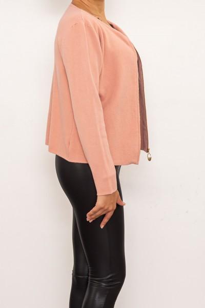 Jacheta Dama D537 Roz Fashion