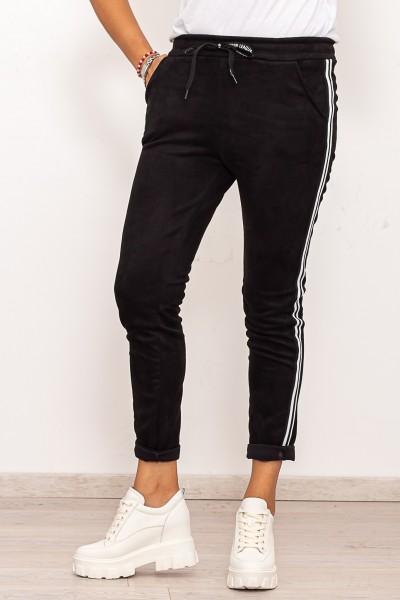 Pantaloni Dama P010 Negru Fashion