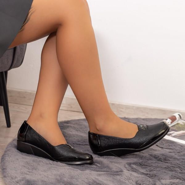 Pantofi Casual Dama 506 Negru Kk&Vv