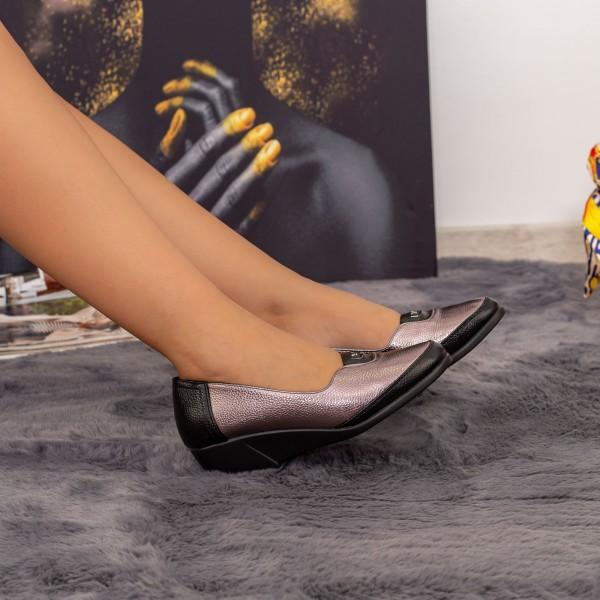 Pantofi Casual Dama 504 Champagne Kk&Vv