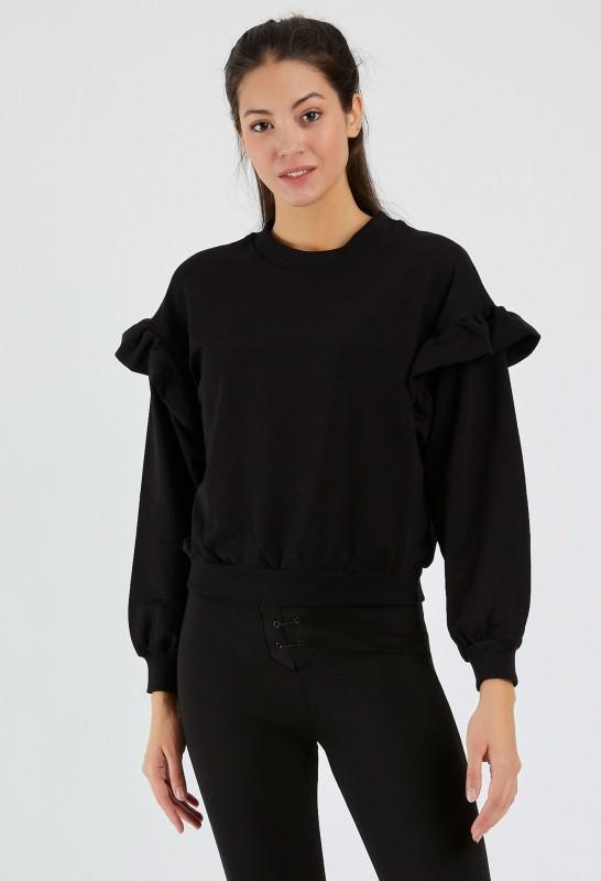 Bluza Dama 9127 Negru Adrom