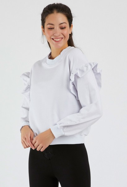 Bluza Dama 9127 Alb Adrom