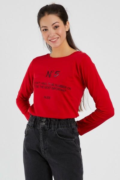 Bluza Dama 9134 Rosu Adrom