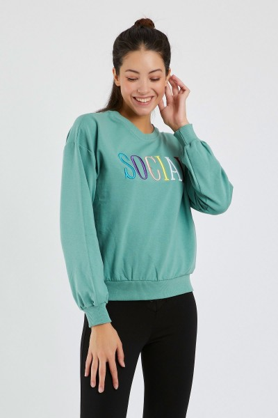 Bluza Dama 9099-2 Verde Adrom