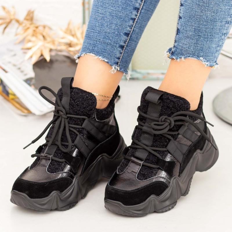 Pantofi Sport Dama SZ273 Negru Mei