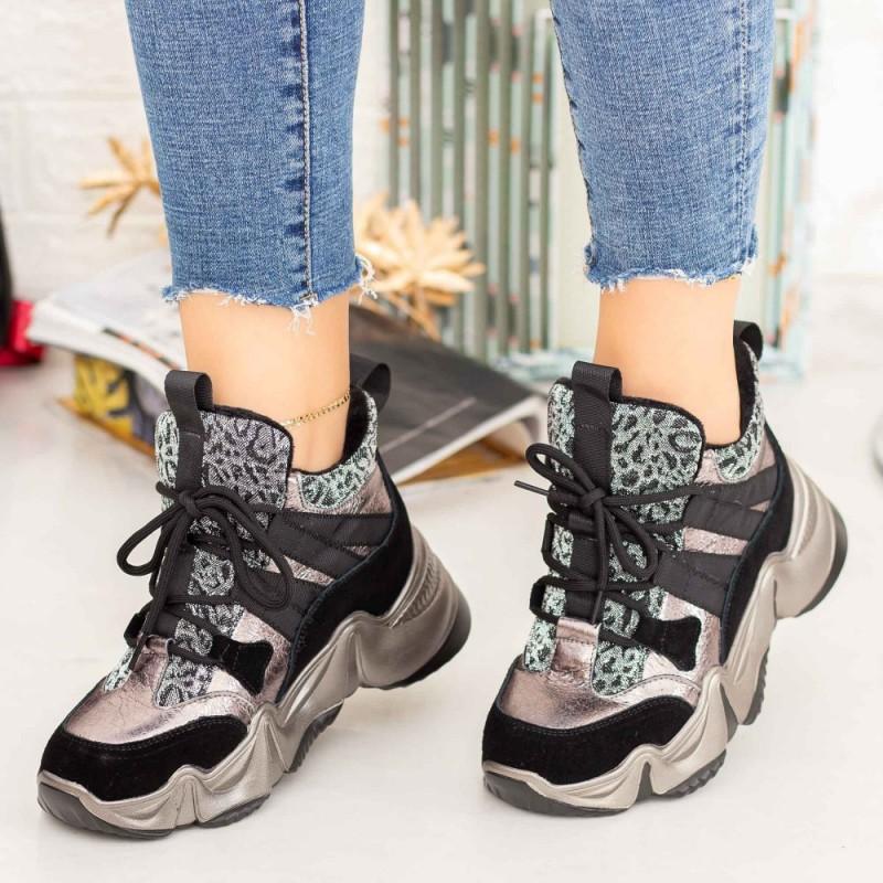 Pantofi Sport Dama SZ273 Guncolor Mei