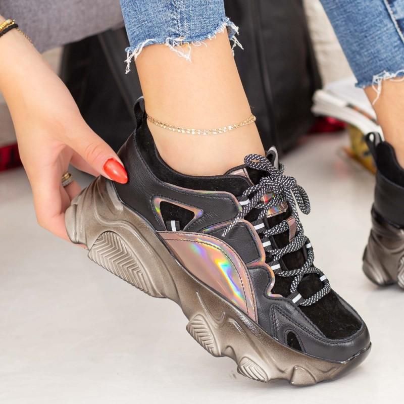 Pantofi Sport Dama SZ268 Negru Mei