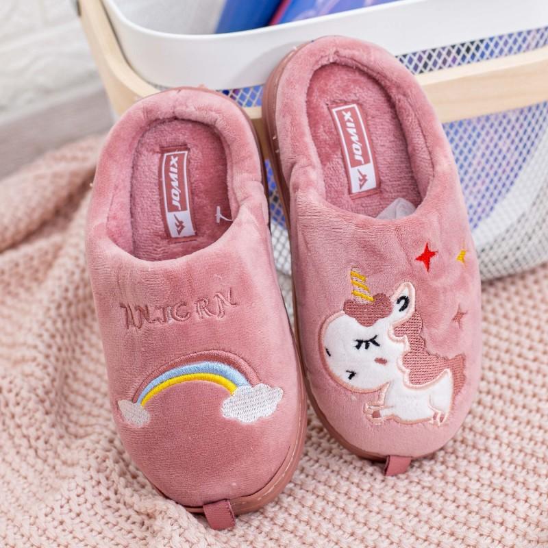 Papuci de casa MB1218 Roz Jomix
