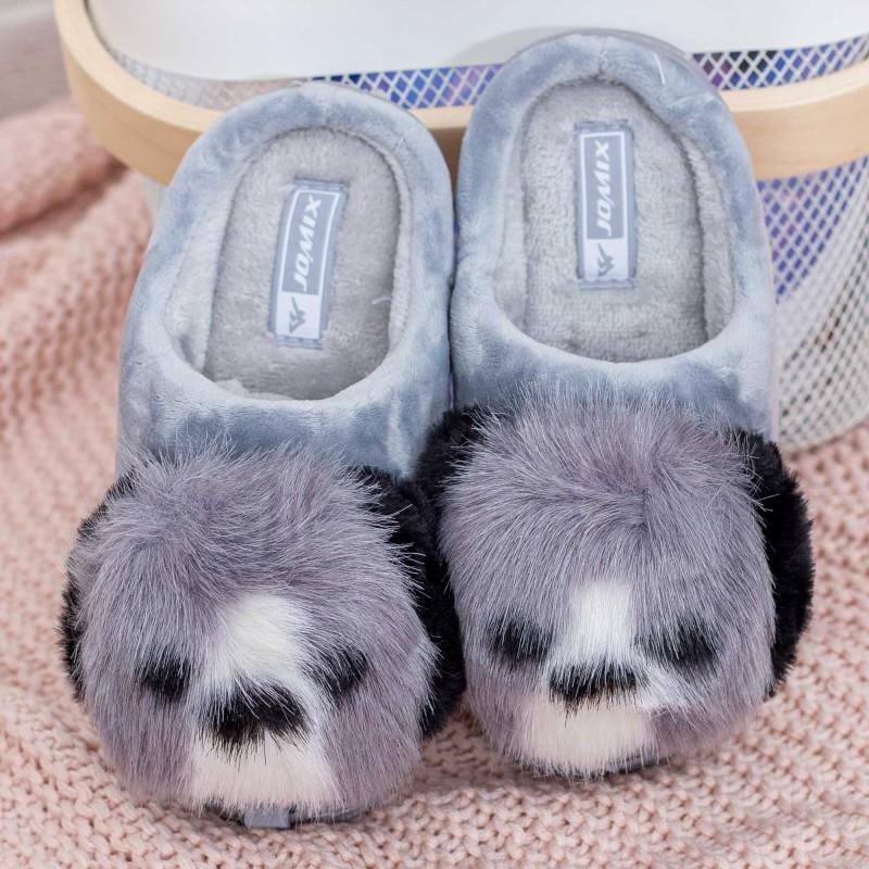 Papuci de casa MB1284 Gri Jomix