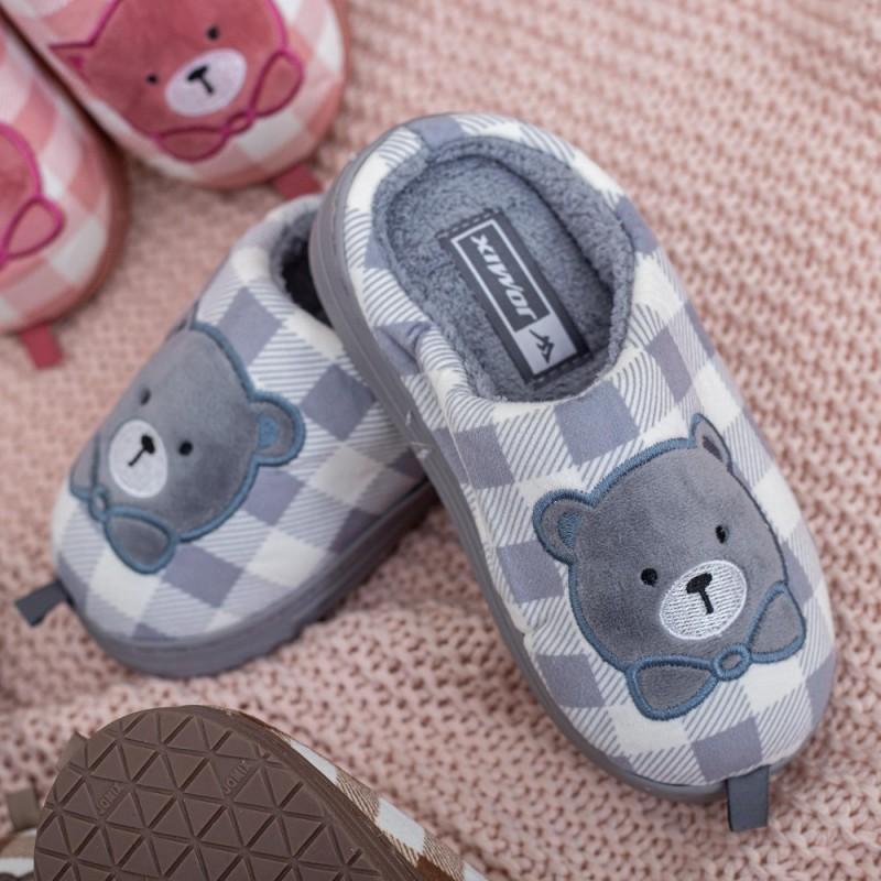 Papuci de casa MB1170 Gri Jomix