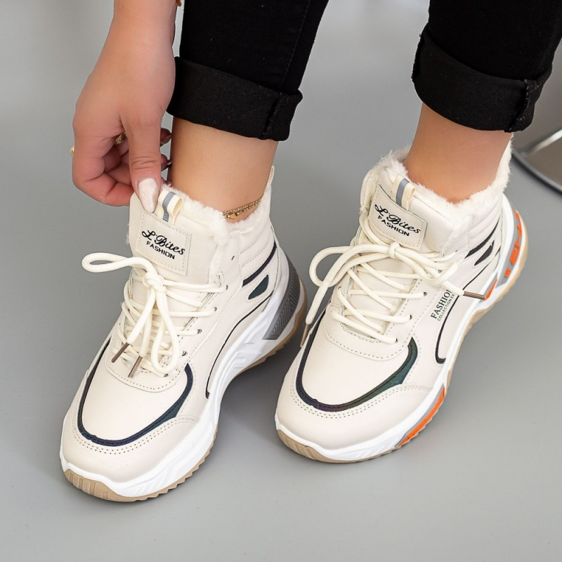 Pantofi Sport Dama LLS-021 Bej Mei