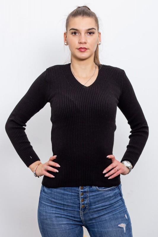 Pulover Dama 1000 Negru Fashion