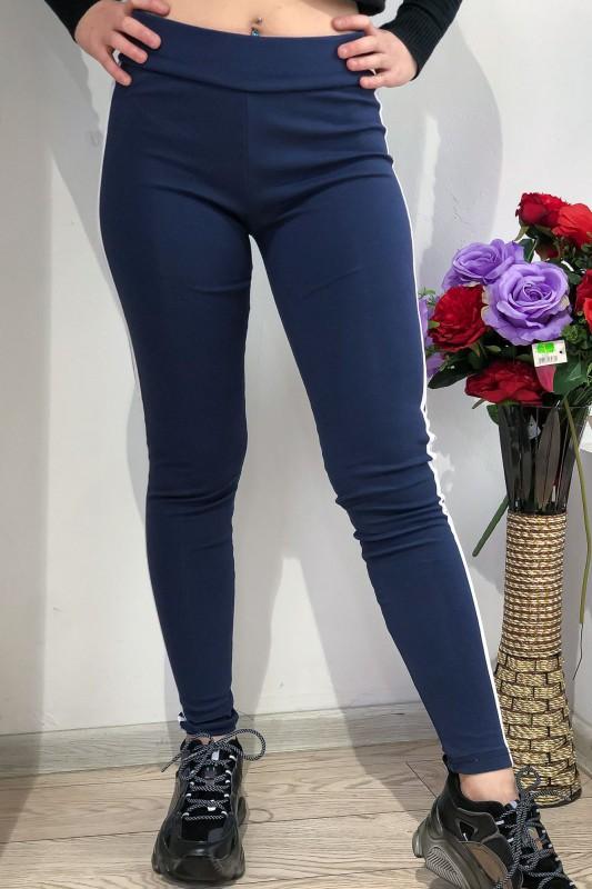 Colanti Dama din bumbac CB03 Albastru Fashion