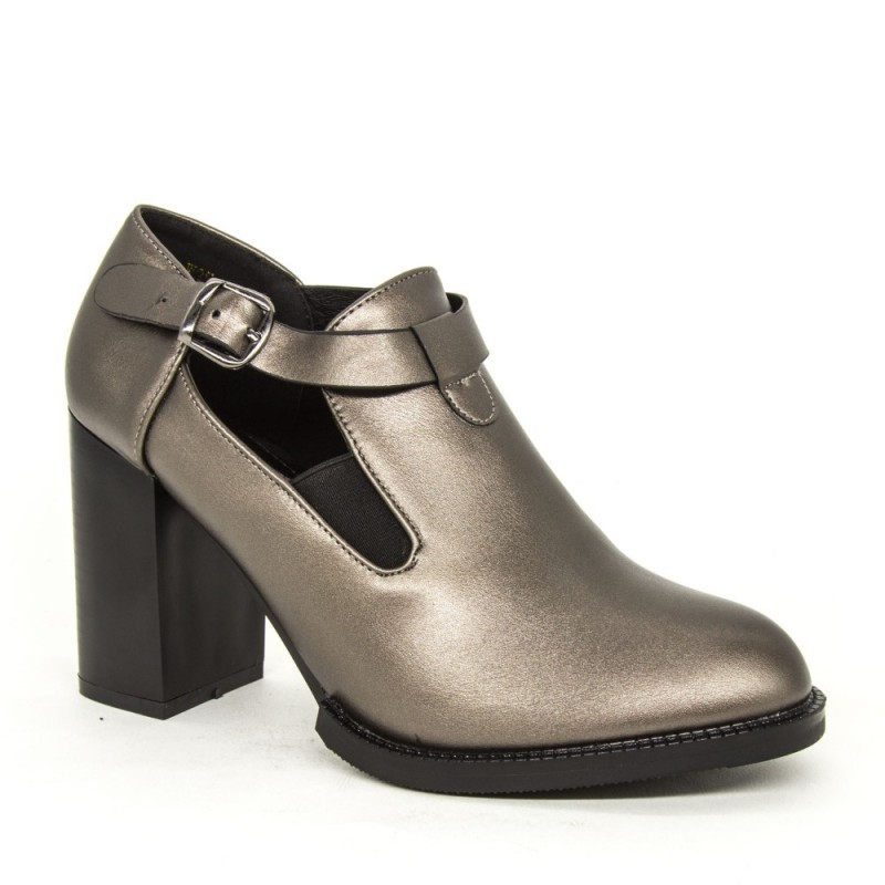 Pantofi cu Toc W35-13A Pewter Lady Star