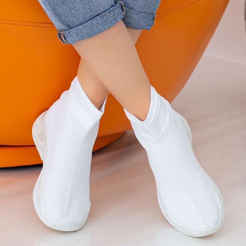 Pantofi Sport Dama WS136 Alb Mei