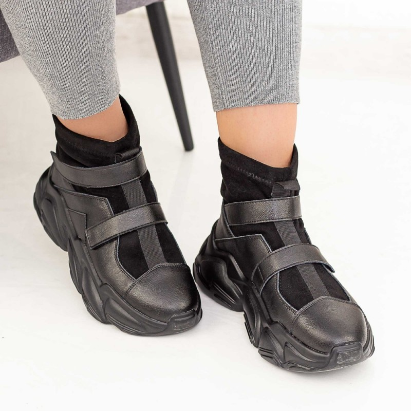 Pantofi Sport Dama HW909 Negru Mei