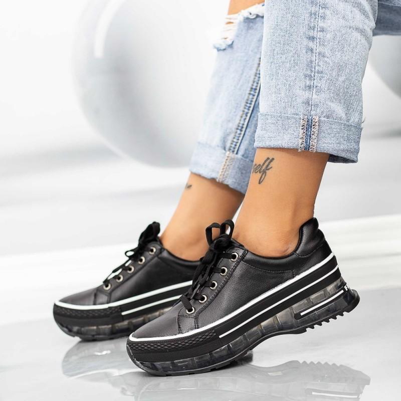 Pantofi Sport Dama SZ302 Negru Mei