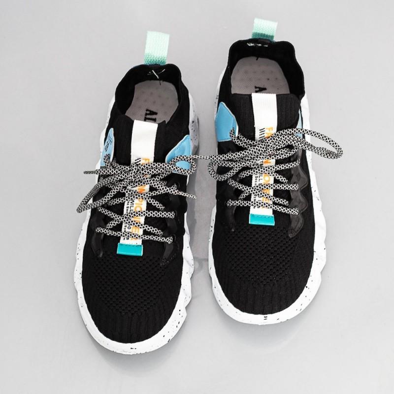 Pantofi Sport Barbati C10-1 Negru Alogo