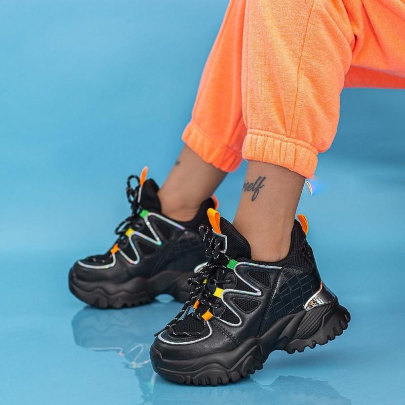 Pantofi Sport Dama SJN372 Negru Mei