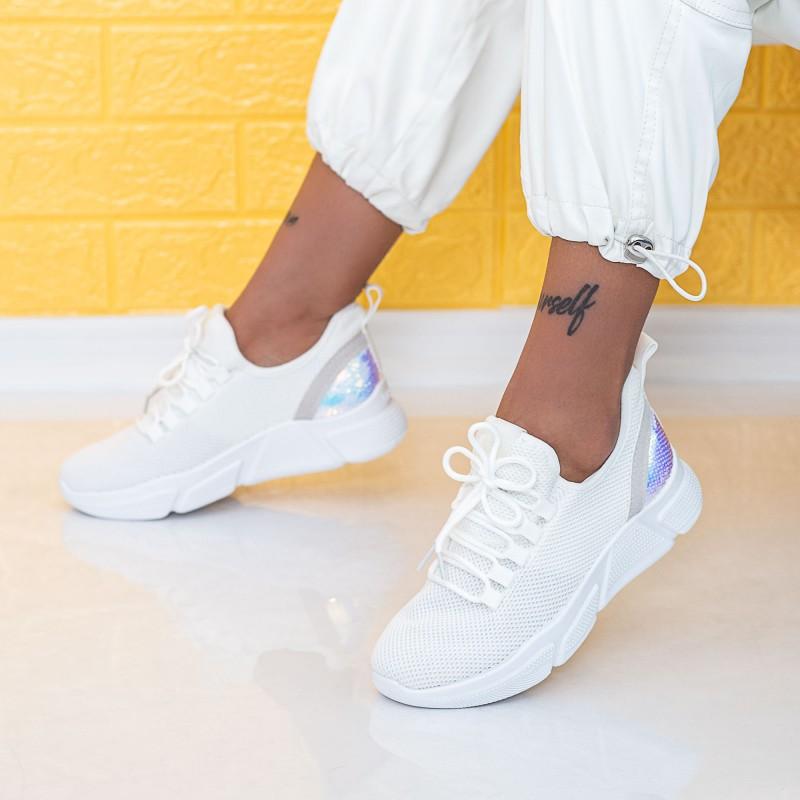 Pantofi Sport Dama NX5 White (C33|P12) Mei