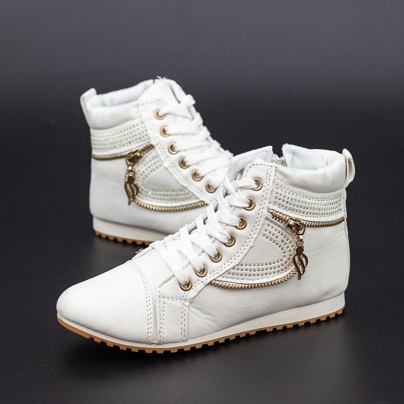 Pantofi Sport Copii T15 Alb Mei