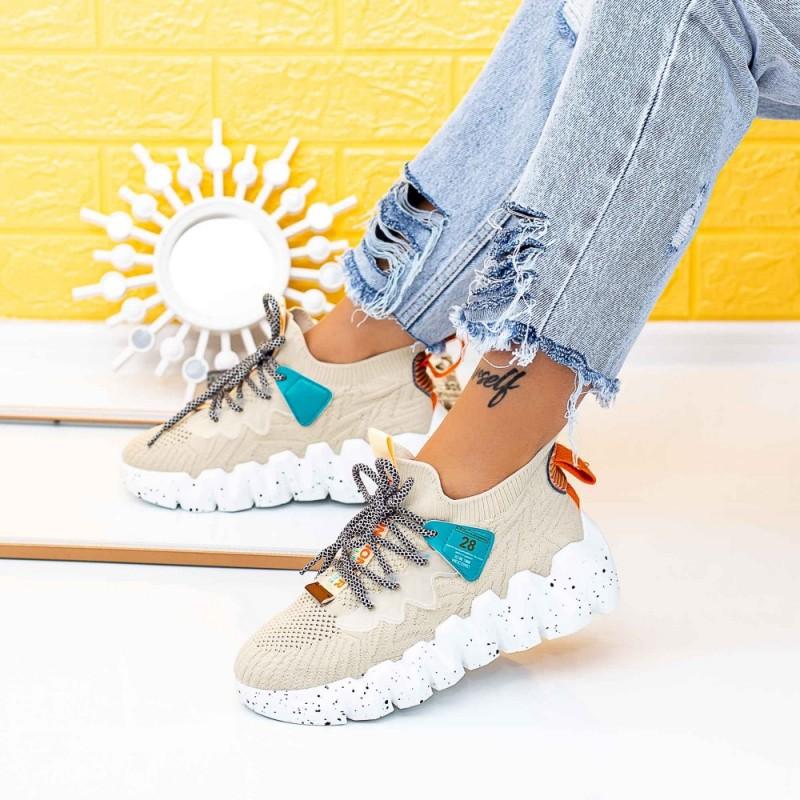 Pantofi Sport Dama LGMB10 Bej Mei