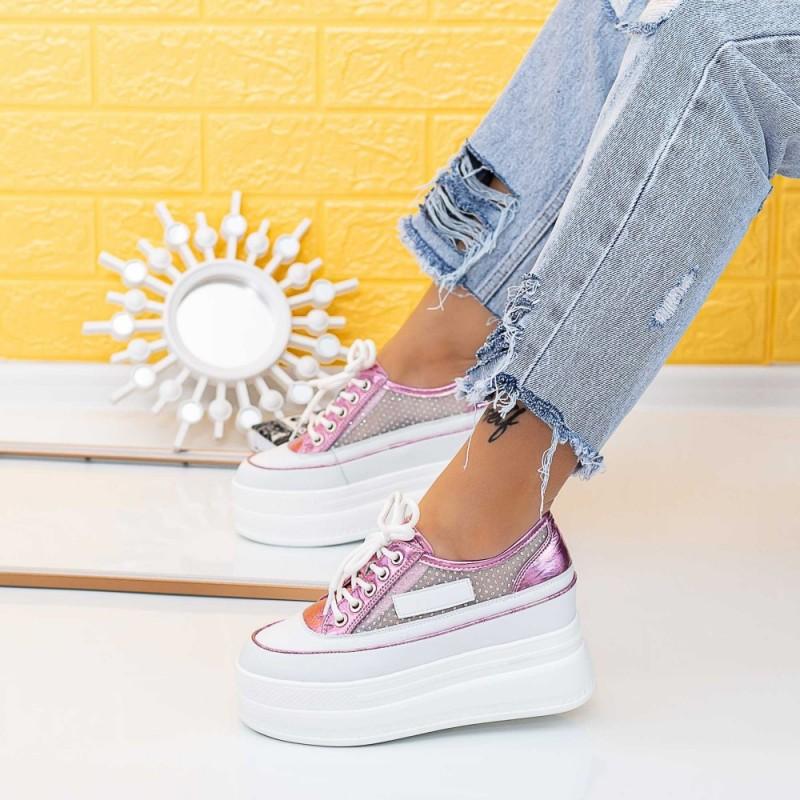 Pantofi Sport Dama SJN371 Roz Mei