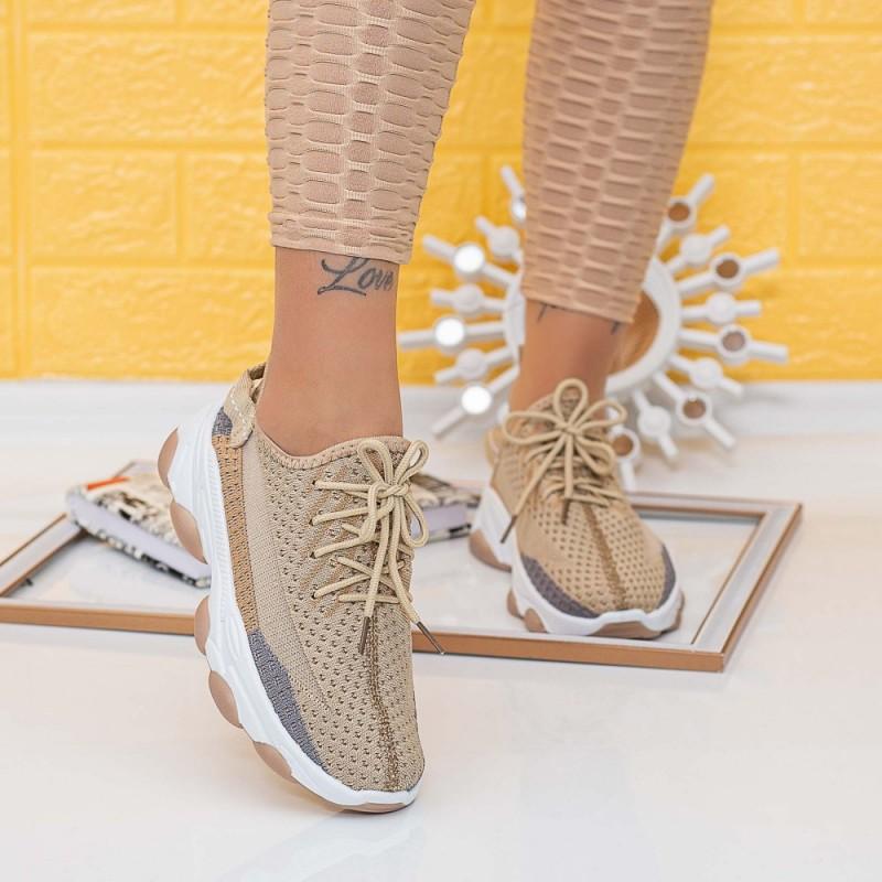 Pantofi Sport Dama TF9 Bej Mei