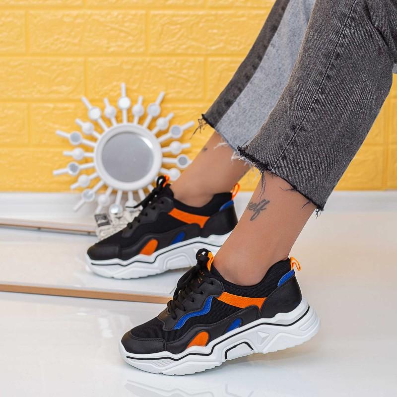 Pantofi Sport Dama X680 Negru (N25) Se7en