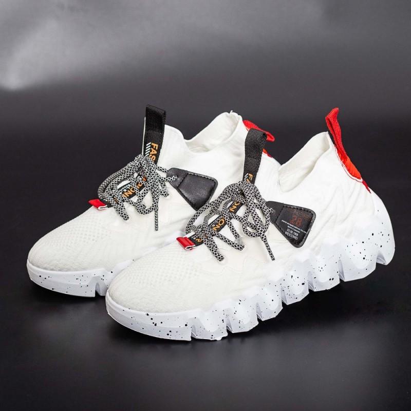 Pantofi Sport Barbati LGMB3 Alb Mei