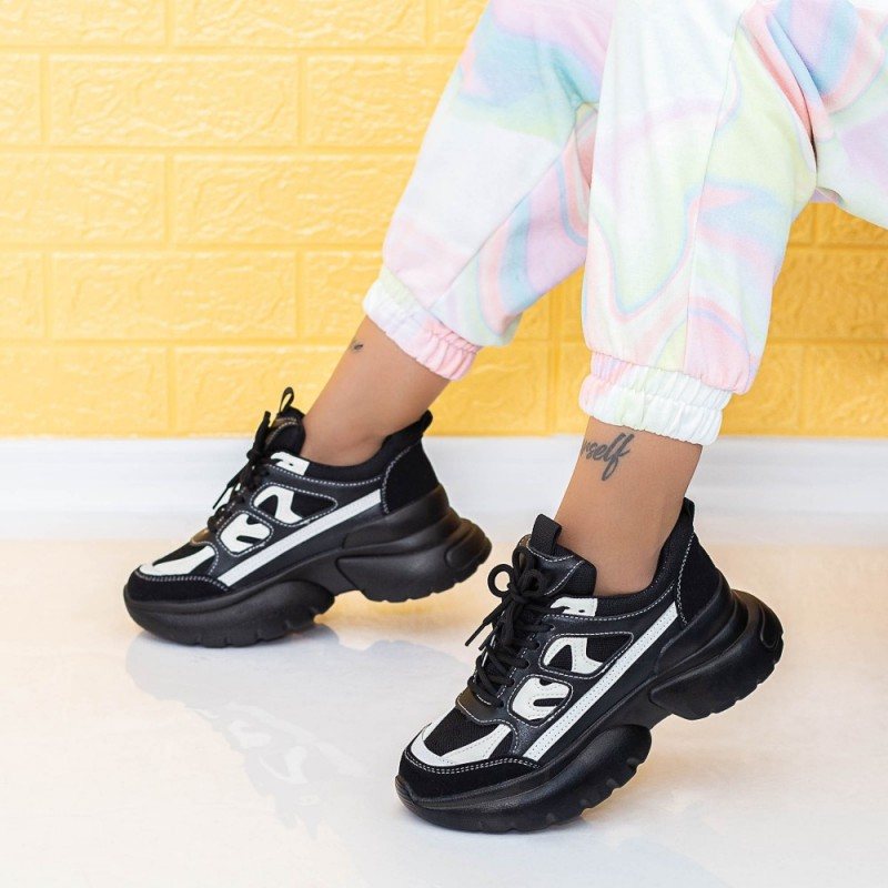 Pantofi Sport Dama LGYED9 Negru Mei