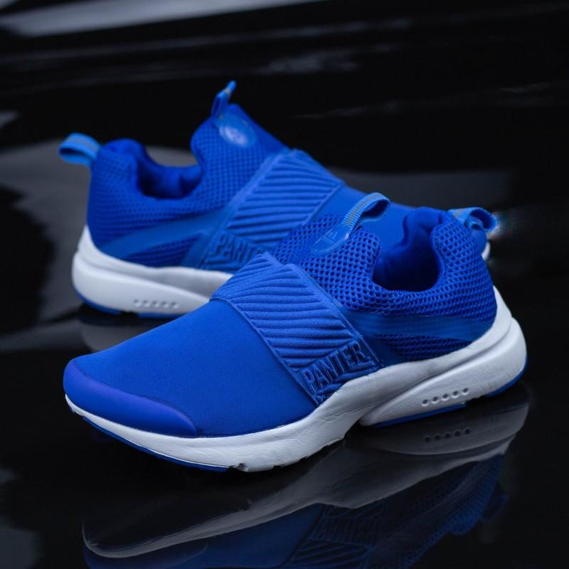 Pantofi Sport Baieti 69-D Albastru Panter